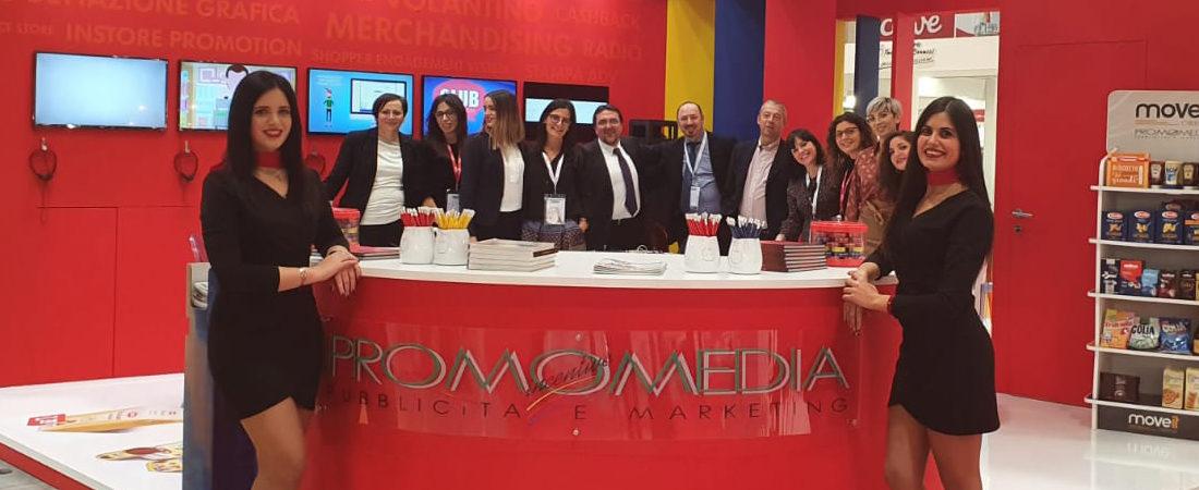 Lo staff di Promomedia a Marca 2020